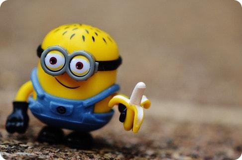 Minion with a banana